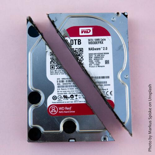 Broken HDD
