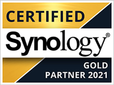 Certified Synology Gold Partner 2021